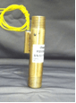Standard unit shown in 360 Brass; fixed actuation point; non-adjustable. Close on/off differential, no seals, in-line porting.